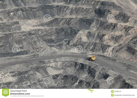 coal pit coal open pit royalty free stock image image 32180116