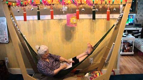 Hanging Chair For Bedroom Homemade Indoor Hammock Youtube