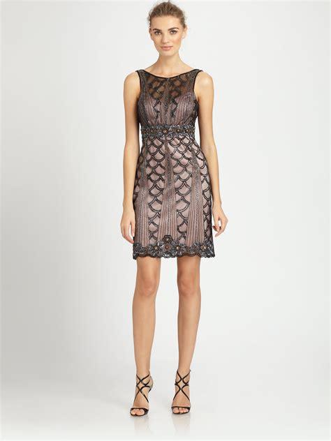 sue wong beaded dress sue wong beaded dress in black black lyst