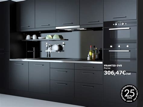 Ikea Kitchen 183 Black Kitchen Stuff Pinterest Ikea Black Kitchen Cabinets