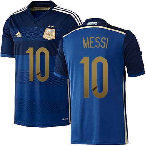 Jersey Adidas Lionel Messi lionel messi argentina soccer jersey 2014 world cup 10 adidas youth authentic navy away
