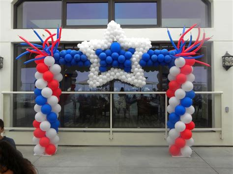 4th Of July Balloon Decorations by 48 Best Images About Balloon 4th Of July Decor On