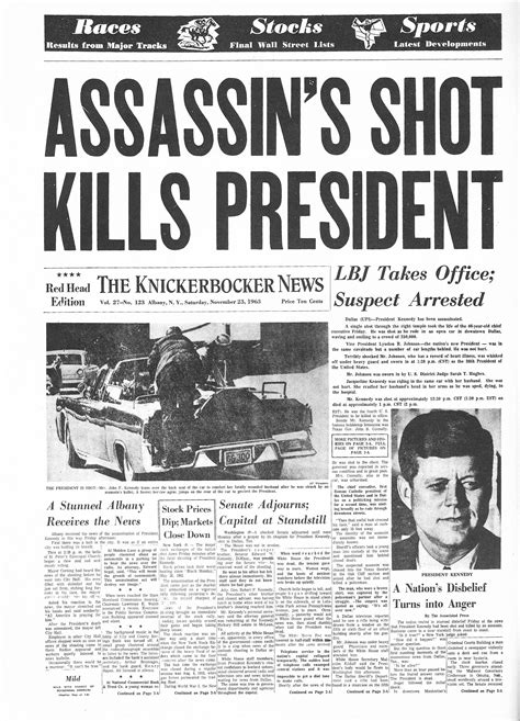 F Kennedy Assassination Essay by F Kennedy Assassination Newspaper Www Pixshark Images Galleries With A Bite