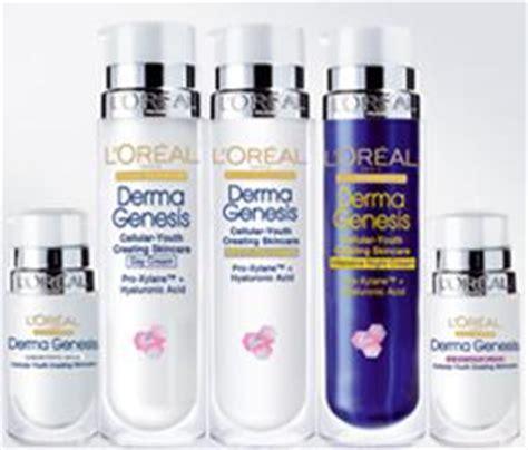 Harga L Oreal Derma Genesis l oreal otorga muestras gratis de su crema dermo genesis