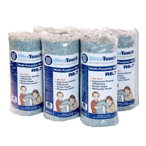 ultratouch 16 in x 48 in denim insulation multi purpose