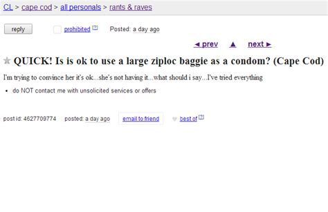craigslist cape cod cape cod craigslist ad of the day is it ok to use a