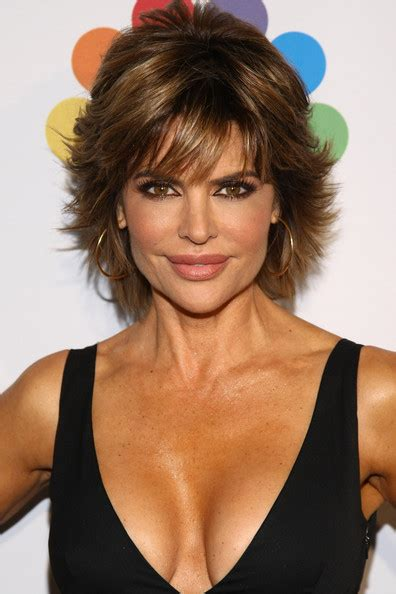 lisa rinna hair products lisa rinna s layered razor cut celebrity hair livingly
