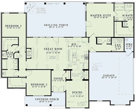 monster house floor plans country style house plans 1960 square foot home 1