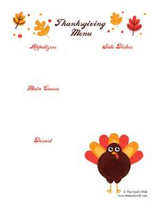 thanksgiving menu template printable thanksgiving preparation with intel 2 in 1