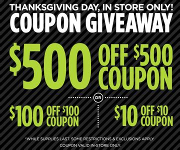Jcpenney Coupon Giveaway November 2017 - free 10 off 10 or upto 500 off 500 coupon at jcpenney on november 23 24