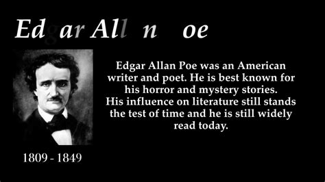 edgar allan poe biography video youtube edgar allan poe top 10 quotes youtube