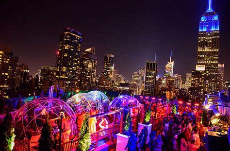 top bars in new york rooftop bars in new york winter best roof 2017
