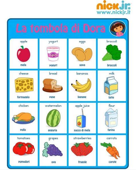 alimenti in inglese disegni da colorare per imparare l inglese disegni