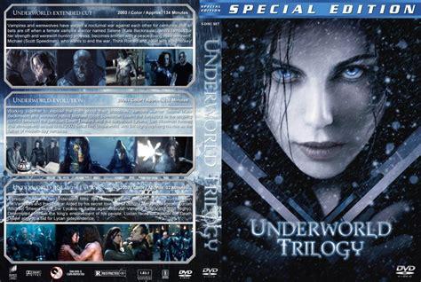 film underworld trilogy underworld trilogy movie dvd custom covers underworld