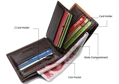 Dompet Kulit Pria Baellerry Casual Design Quality gubintu dompet kulit pria brown jakartanotebook