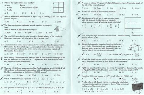 ukmt senior maths challenge ukmt senior challenge 2010 page 3 the student room