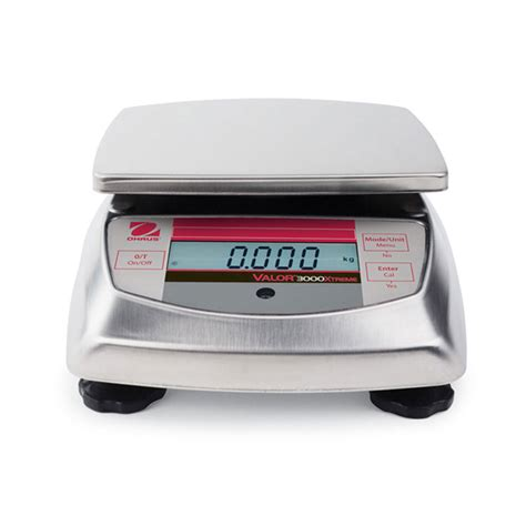 ohaus bench scale ohaus v31xw6 valor 3000 extreme compact washdown bench scale ebay