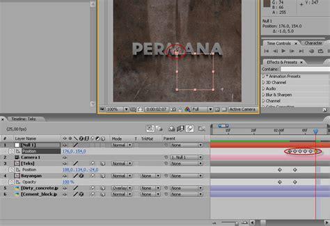 membuat iklan dengan after effect membuat intro film dengan after effect