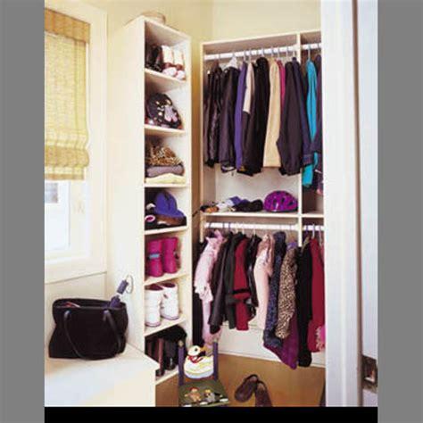 Coat Closet Organizers by Coat Closets
