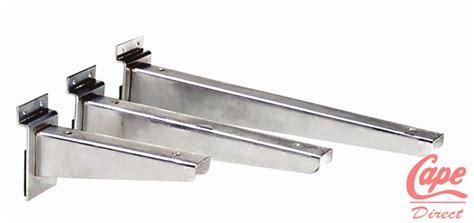 Slatwall Shelf Brackets by Shop Fit Direct Slatwall Universal Shelf Bracket