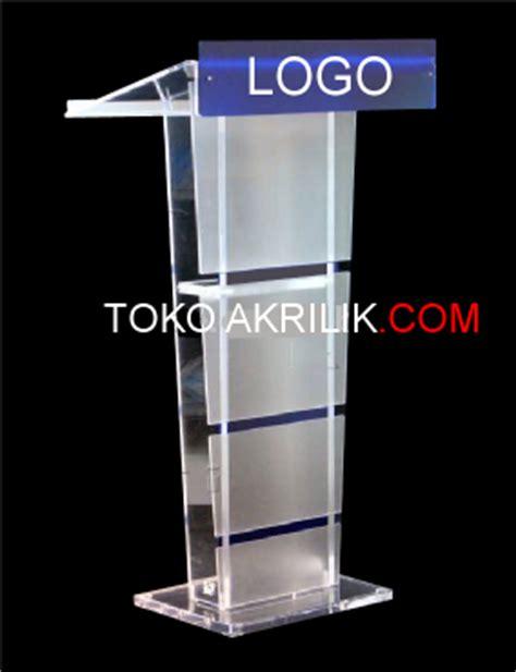 Mimbar Acrylic category podium mimbar acrylic akrilik acrylic display