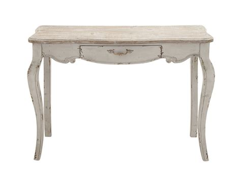 white entry table shabby distressed white wood console hall entryway sofa