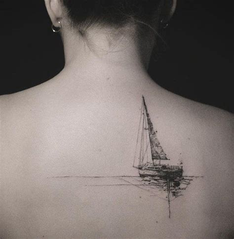 small nautical tattoos best 25 boat tattoos ideas on half sleeve