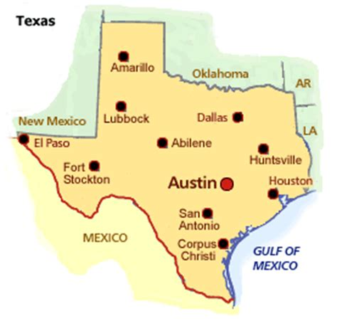 where is texas located on the map map of cty location in texas texas map with cities and counties printables