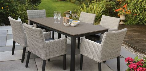 contemporary garden furniture offers modern outlook to the