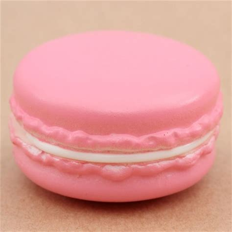 macarons pattern pink cute pink macaron white center squishy kawaii cute