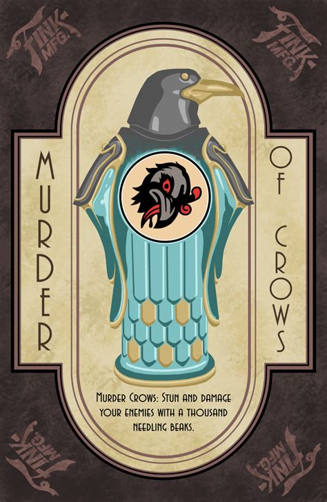 bioshock vigors murder of crows by hoecrux on deviantart