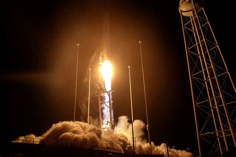 Virginia Tech Evening Mba Curriculum by Rocket Resupplying International Space Station Gets Boost