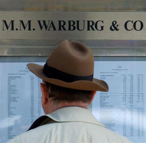 warburg bank de warburg bank wegen quot ex quot gesch 228 ften im visier der