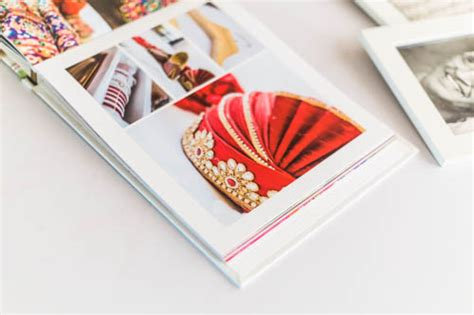 Wedding Coffee Table Book Design by Book Design Print Flushmount Oodio
