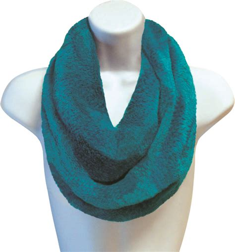 Infinity Scarves Wholesale Wholesale Teal Posh Plush Infinity Scarves Sku 1981561