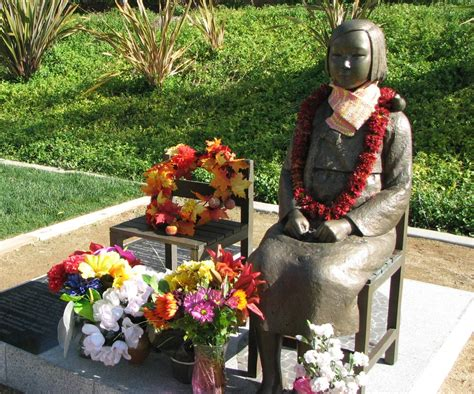 comfort women monument sfv jacl endorses glendale s korean comfort women monument