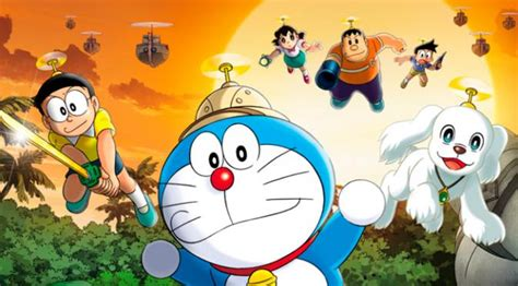 video film petualangan doraemon dijadikan animasi 2d film ke 36 doraemon tetap lucu