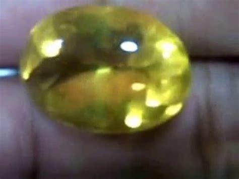yakut kuning 23 35 carat
