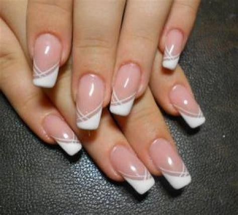 imagenes de uñas blancas de acrilico los nuevos dise 209 os de u 209 as de gel