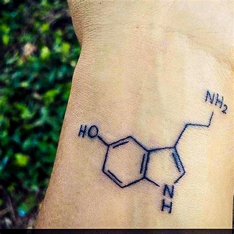 serotonin tattoo serotonin tattoos
