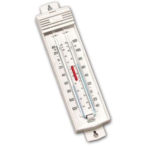 Thermometer Max Min 5460 indoor outdoor min max thermometer ebay