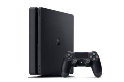 console sony consoles ps4 sony ps4 slim 500 go 4263626 darty
