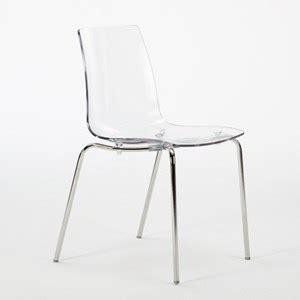 sedie calligaris trasparenti 4 sedie trasparenti impilabili per bar ristorante casa