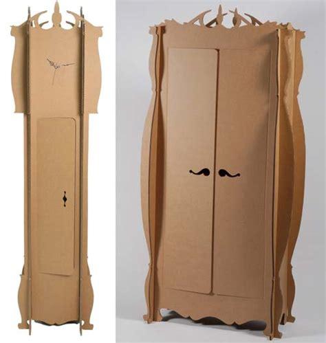 mobili in cartone riciclato arredamento in cartone arredamento x arredare la casa giusta
