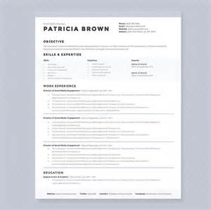 Curriculum Vitae Outline by Clean Resume Template Pkg Resume Templates On Creative