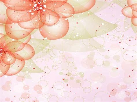 Dreamlike Red Flowers Powerpoint Templates Flowers Colorful Floral Powerpoint Templates Flowers Orange