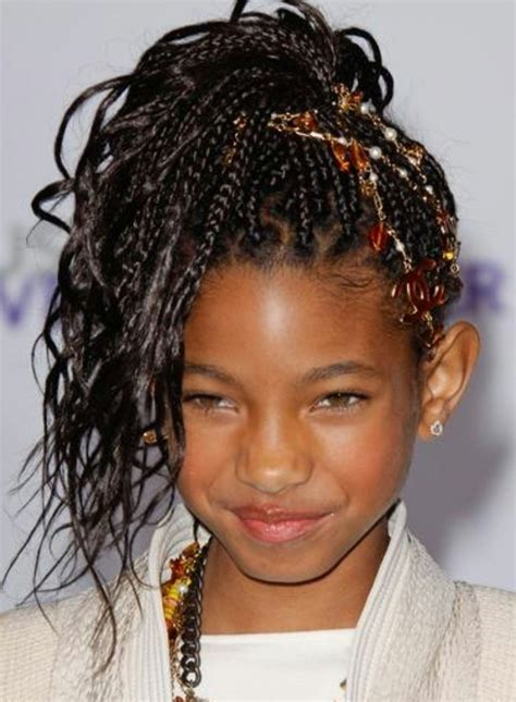 Modele Tresse Fille Africaine tresse enfant 70 id 233 es g 233 niales pour les petites demoiselles