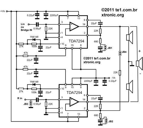 Power Lifier Black Spider tda7294 power lifier schematics bridge tda7294 get free