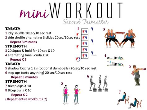 fit momma clean baby fitness tips for your second trimester
