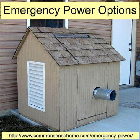 emergency power options for your home